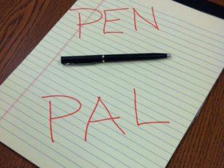 PenPals write letter
