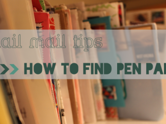 snail mail tips