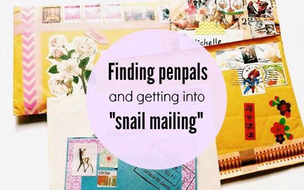 snail mail penpals
