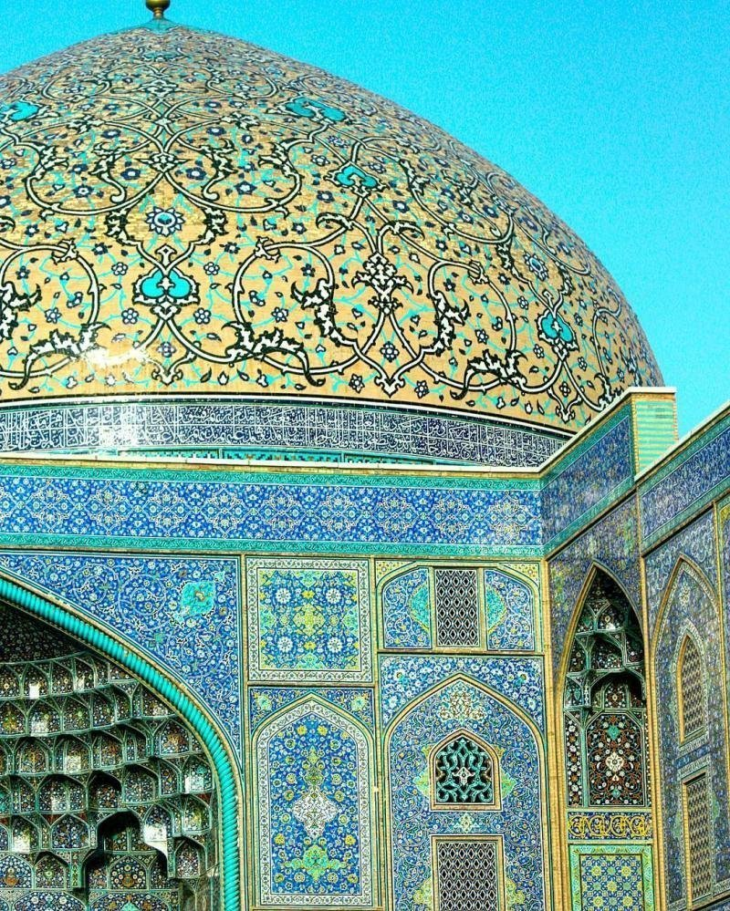 sheikh lotfollah mosque architecture
