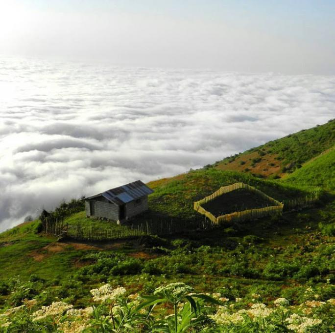Wonderful places in iran , Amlash , Gilan