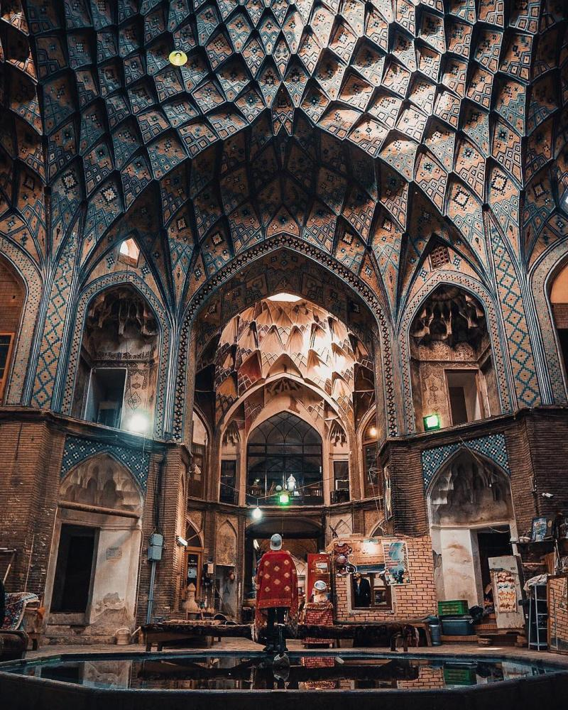 Great Architecture of Bazaar e Kashan