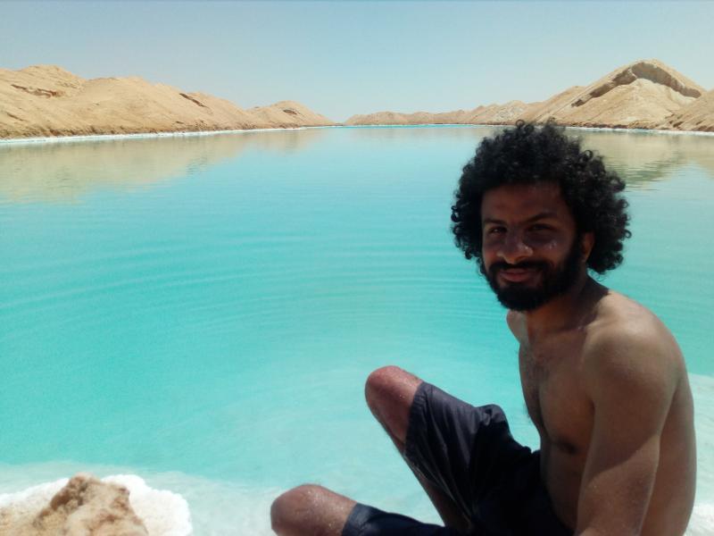 Salt Lakes, Siwa Oasis, Egypt