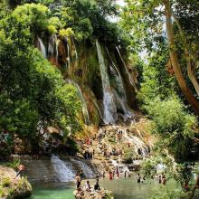 Wonderful places in iran , Bisheh waterfall, Droud, Lorestan