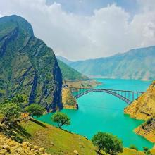 Wonderful places in iran , Karun-4 dam, Bakhtiari Province