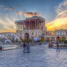 عکس گردشگری در Ali Qapu ( Ali qapoo ) Grand palace in Isfahan