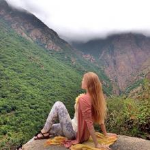 Wonderful places in iran , Tourists in beautiful Mountains of Gilan, Iran