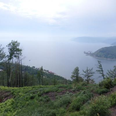 Lake Baikal , hiking in Siberia