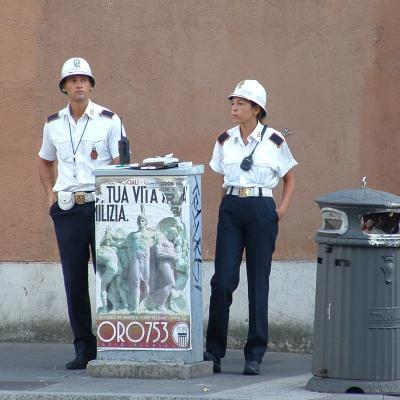Local Police Officers, Rome/Roma