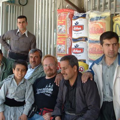 With local Kurds in Mariwan