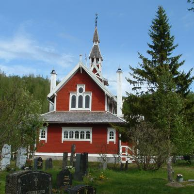 Old Church, Neiden, Finnmark