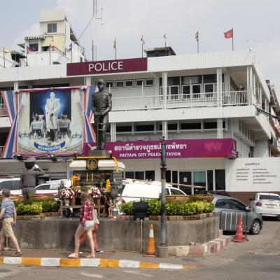 Pattaya main police station