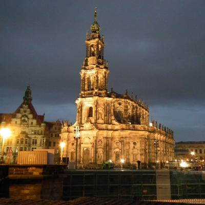 Catholic Church, Dresden, Saxony/Sachsen