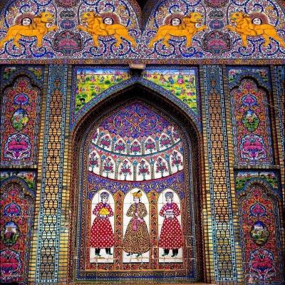Travel to Naranjestan Qavam palace in Shiraz Iran
