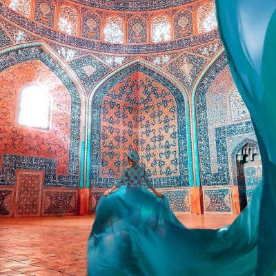 Visit Unique Sheikh Lotfollah Mosque Architecture When Traveling to Isfahan Iran