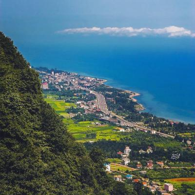 Travel to beautiful Ramsar city in North of Iran
