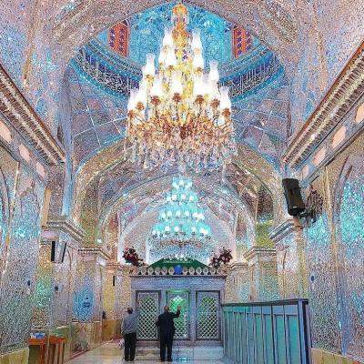 Travel To Shah Cheragh Shrine in Shiraz Iran