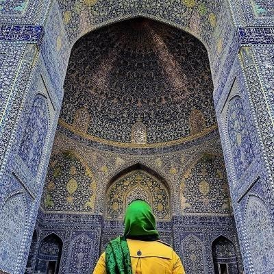 Travel To Shah Mosque ( Imam Mosque ) , Naghshe Jahan , Isfahan , Iran