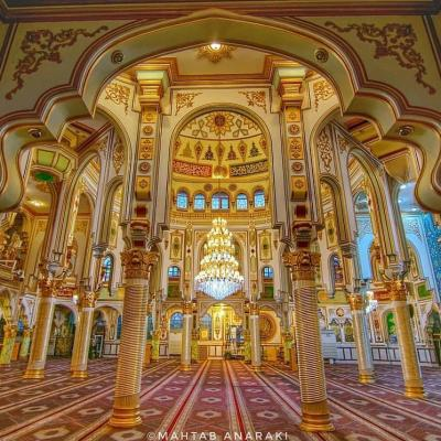 Travel to visit Shafei Jame Mosque in Kermanshah of Iran