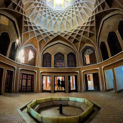 Travel to Bagh-e Dolat Abad of Yazd in Iran