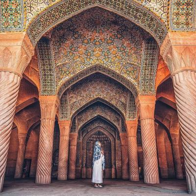 Travel to Vakil Mosque of Shiraz