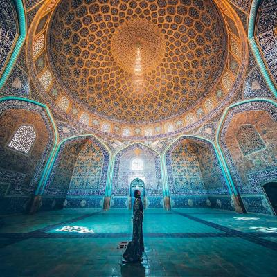 Travel to Sheikh Lotfollah Mosque of Isfahan