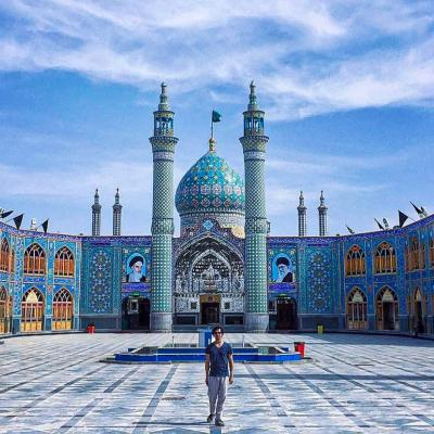 Travel to Shrine of Hilal ibn Ali in Aran and Bidgol of Isfahan