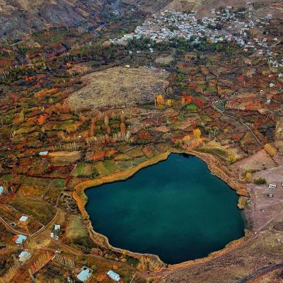 Travel To Evan Lake in Alamout Area of Qazvin Iran