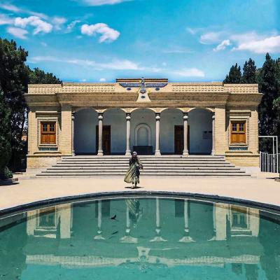 Zoroastrian fire temple (Atashkadeh) in Yazd of Iran