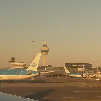 Early morning @Schiphol